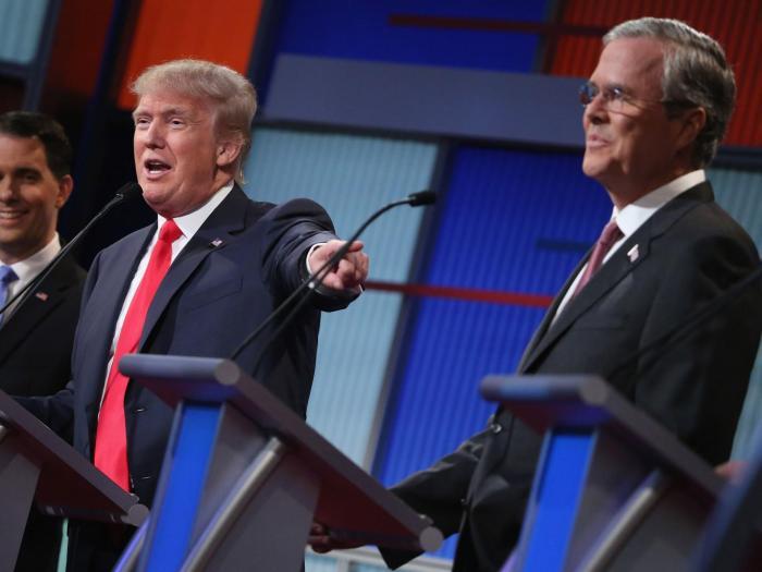 trump-bush-getty
