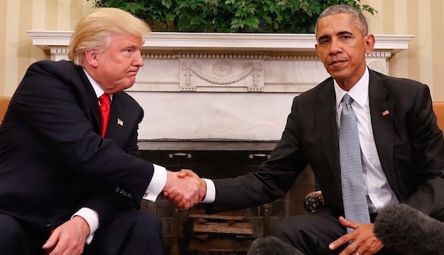 Should Obama CriticizeTrump?