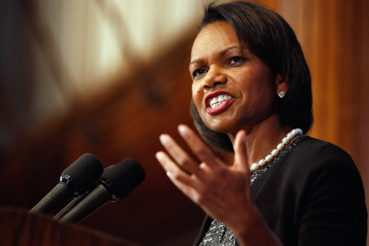 Condoleezza Rice Gives Talk, Promotes Book In Washington DC