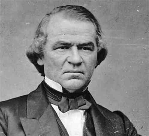 Andres-Johnson-17th-U-S-president