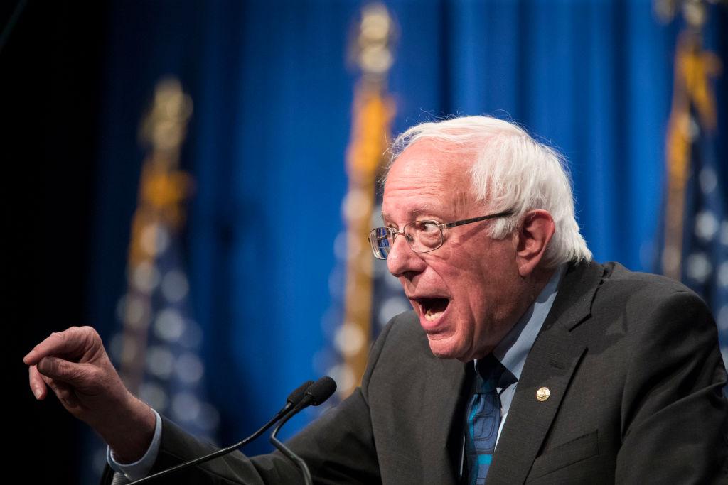 Bernie Sanders Delivers Policy Address On Democratic Socialism In Washington DC